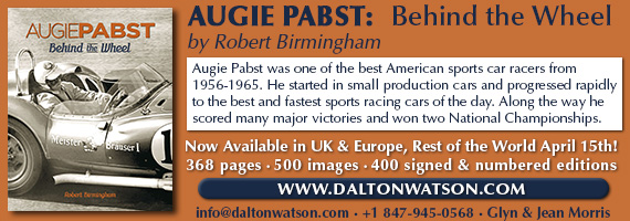 Augie Pabst: Behind the Wheel